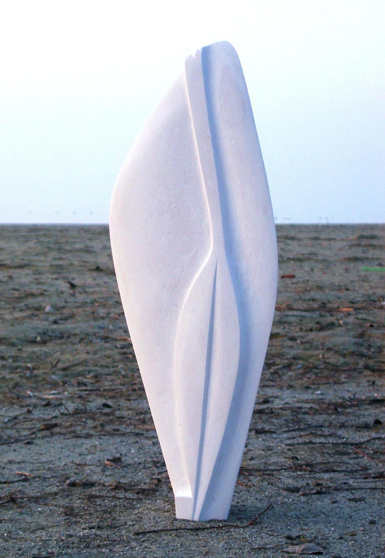 Leaving-Skulptur- Yvonne Moser